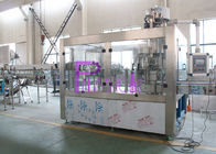 PLC Control Water Production Line , 15000BPH Plastic Bottle Monoblock Filling Machine